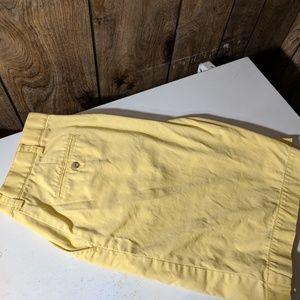 Sz34 Ralph Lauren Yellow Shorts